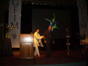Chairmen Dr.Linda Lancaster and Dr. Bert Hellinger.